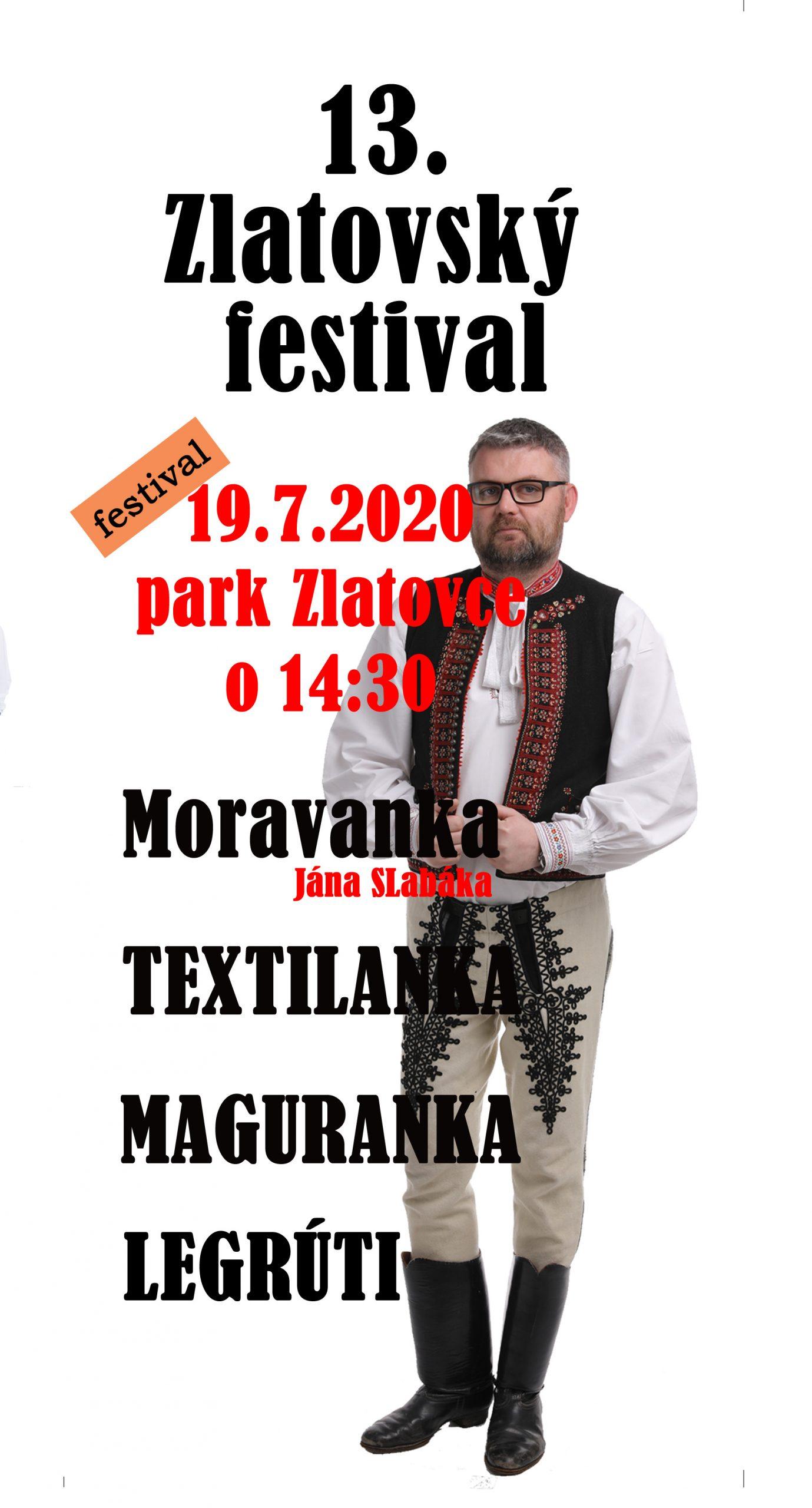 Zlatovský festival 2020